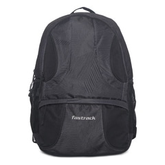 Fastrack Black Casual Backpack For Men-A0314NBK01AO