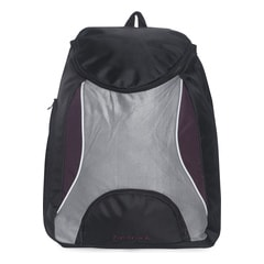 Fastrack Black And Purple Laptop Backpack For Men-A0325NPR01