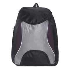 Fastrack Black And Purple Laptop Backpack For Men-A0325NPR01