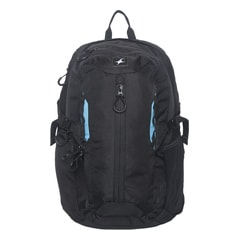 Fastrack Hi Utility Black Backpack-A0335NBK01