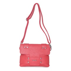 Fastrack Pu Red Sling Bag For Women-A0423PRD01