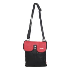 Fastrack Pu Red Sling Bag For Women-A0426PRD01