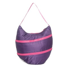 Fastrack Polyester Purple Hobo Bag For Women-A0503NPR01