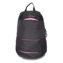 Fastrack Black Backpack-A0510NBK02