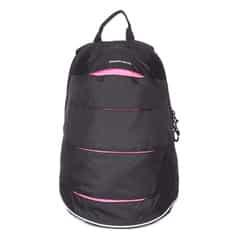 Fastrack Black Backpack-A0510NBK02