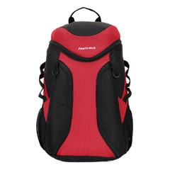 Fastrack Black Backpack-A0512NBK01