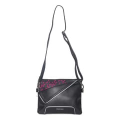 Fastrack Pink Sling Bag for Women-A0530PPK01