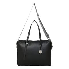 Fastrack Black Laptop Bag for Women