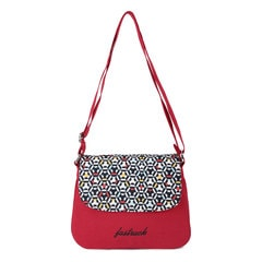 Fastrack Red Sling Bag for Women
