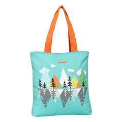 Fastrack Green Canvas Bag for Women