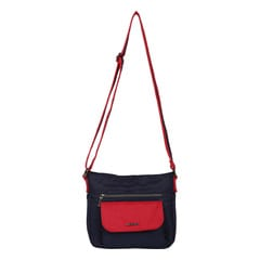 Fastrack Black Polyster Bags for Women