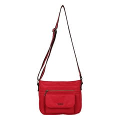 Fastrack Red Polyester Bags for Women