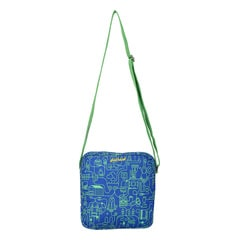 Fastrack Blue Polyester Canvas Bags for Women