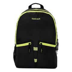 Fastrack Black Backpack for Men