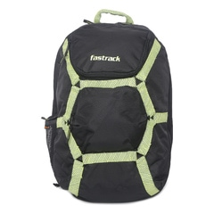 Fastrack Black Backpack for Men