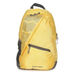 Fastrack Yellow Backpack for Men
