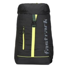 Fastrack Black Unisex Backpack