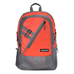 Fastrack Back to Campus Orange Unisex Backpack