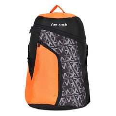 Fastrack Back to Campus Orange Unisex Backpack