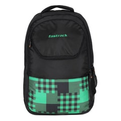 Fastrack Back to Campus Black Unisex Backpack