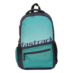 Fastrack Back to Campus Green Polyester Backpack for Men