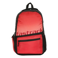 Fastrack Back to Campus Red Polyester Backpack for Men