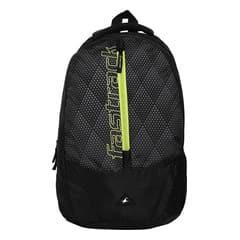 Fastrack Black Polyester Bags for Men