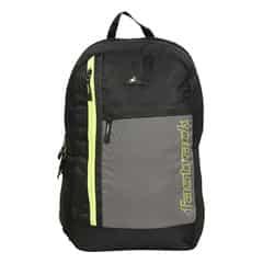 Fastrack Back to Campus Black Polyester Backpack for Men