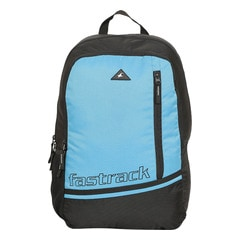 Fastrack Back to Campus Blue Polyester Backpack for Men