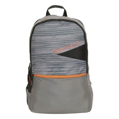 Fastrack Back to Campus Grey Polyester Backpack for Men