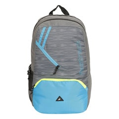 Fastrack Back to Campus Grey Polyester Backpack for Men