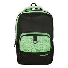 Fastrack Green & Black Polyester Bag for Men