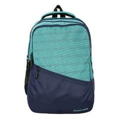 Fastrack Blue & Black Polyester Bag for Men