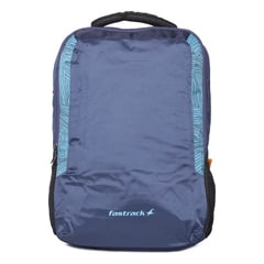 Fastrack Blue Polyester Laptop Backpack For Men-AC013NBL01AB