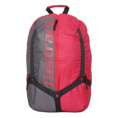 Fastrack Red Backpack For Men-AC029NRD01