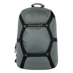 Fastrack Green Backpack For Men-AC030NGR01