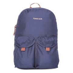 Fastrack Blue Backpack For Men-AC031NBL01