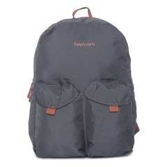 Fastrack Grey Backpack For Men-AC031NGY01