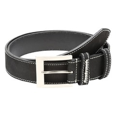 Fastrack Black Leather Belt For Men-B0378LBK01L