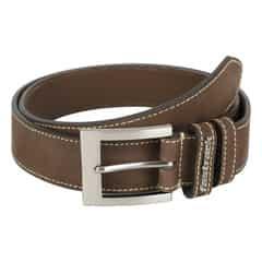 Fastrack Brown Leather Belt For Men-B0378LBR01L