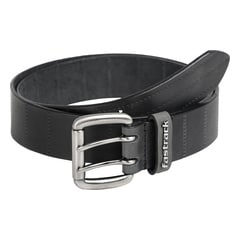 Fastrack Black Leather Belts for Men