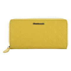 Fastrack Leather Yellow Wallets for Women-C0388LYL01