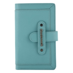 Fastrack Leather Blue Wallets for Women-C0389LBL01