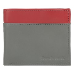 Fastrack Grey Leather Wallet for Men