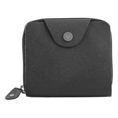 Fastrack Black Leather Unisex Wallet