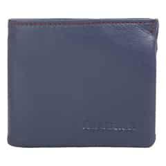 Fastrack Blue Leather Wallet for Men
