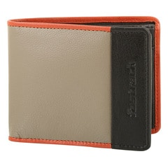 Fastrack Orange Leather Wallet for Men