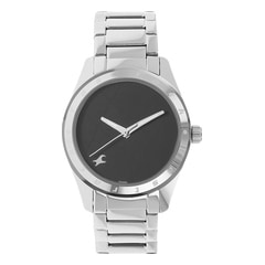 Fastrack Black Dial Analog Watch for Women-NF6057SM03