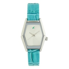 Fastrack Silver Dial Analog Watch for Women-NF6094SL01