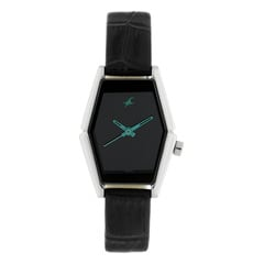 Fastrack Black Dial Analog Watch for Women-NF6094SL02